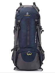 60L L Rucksack Camping & Wandern / Reisen Draußen Wasserdicht / Wasserdichter Verschluß / tragbar / AtmungsaktivGrün / Rot / Schwarz /