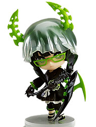 Blackrock Shooter Death Version Anime Action Figure 10CM Model Toy Doll Toy