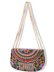 Women Canvas Sling Bag Shoulder Bag-Multi-color