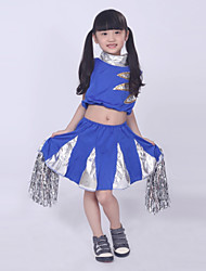 Cheerleader Costumes Children's Performance 2 Pieces Outfits Dance Costumes