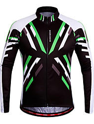 Wosawe Bike/Cycling Jersey / Sweatshirt / Tops Women's / Unisex Long SleeveBreathable / Moisture Permeability / Quick Dry / Anatomic