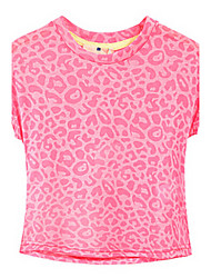 Girl's Tee,Cotton Summer / Spring Pink