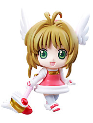 Amazing magic Sakura Anime Action Figure 8CM Model Toy Doll Toy(6 Pcs)