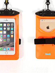 Dry Boxes / Dry Bags Adult / Unisex For Cellphone / Waterproof Diving / Snorkeling Black / White / Red / Orange / Green / Blue PVC-Tteoobl