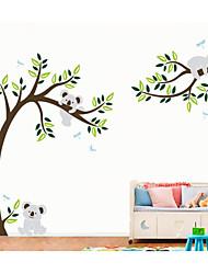Животные / ботанический Наклейки Простые наклейки,PVC 60X5X5