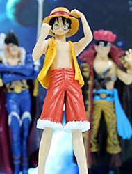 One Piece Anime Action Figure 15CM Model Toy Doll Toy (5 Pcs)