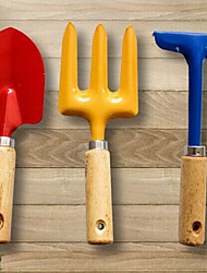 3-piece Kids Colorful Garden Tool Set