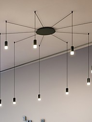 Cord 200cm Northern Europe Contracted Geometric Cord design LED Pendant Light office,Living Room