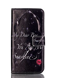 For Samsung Galaxy S7 Edge Wallet / Card Holder / with Stand / Flip Case Full Body Case Sexy Lady PU Leather SamsungS7 edge / S6 edge