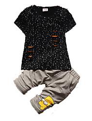 Ensemble de Vêtements Boy Manches Courtes Eté Coton