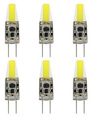 6pcs G4 3W 1505 RA>80 240LM 3000K/6000K Warm White/Cool White Light Lamp Bulb(DC12V/AC220V)