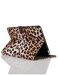 9.7 Inch Leopard Pattern Pu Leather Case with Stand for ipad pro 9.7(Assorted Colors)