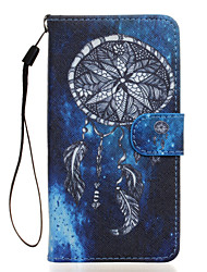 Dreamcatcher Pattern PU Leather Full Body Case with Stand for Wiko Rainbow Jam 4G