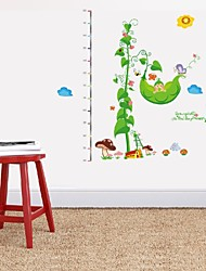 Diy Removable Pvc Cartoon Measurement Of Height Butterfly Pea Baby Wall Sticker Decor Mural Decal Kids Room