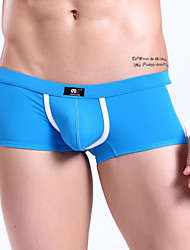 Men's Nylon / Spandex Boxer Briefs Men's Breathable Underwear