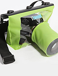 Водонепроницаемые сумки Сухие боксы Защита от влаги Чехлы для камер Подводное плавание и снорклинг PVCЗеленый Синий Черный Белый