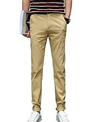 AOLONGQISHI® Men's Suits , Casual Pure Cotton H350