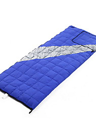 Sleeping Bag Rectangular Bag Single -2-13 Duck Down 500g 200cmX78cm Camping / Traveling / Outdoor / IndoorMoisture Permeability /