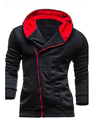 7 Colors Men's High Quality Slim Fleece Tracksuits Hoodie & Sweatshirt, Casual Sport Outerwear Coat