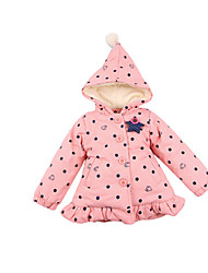 Girl's Jacket & Coat,Cotton Winter Blue / Pink