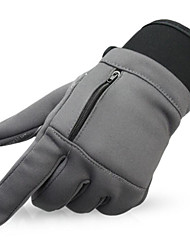 Fulang 2016 Spring New Antiskid Zipper Wear-resisting Touch-screen Cycling Glove GE47