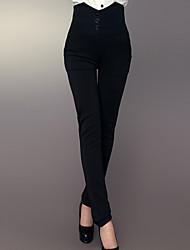Pantaloni Da donna Skinny Vintage Poliestere Media elasticità
