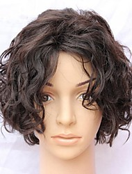 joywigs peluca pelucas del cordón ninguna sacudida 8 pulgadas de pelo corto venta peluca del pelo humano para las mujeres negras