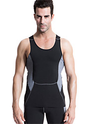 Running Compression Clothing / Tights Men's Sleeveless Quick Dry / Compression / Lightweight Materials / Soft Polyester / ElastaneYoga /