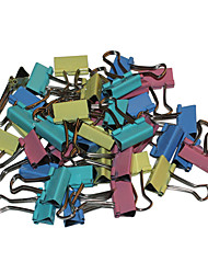 Convenient Stainless Steel + Iron Binder Clips (40 PCS)