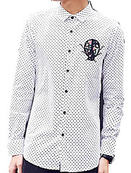 DMI™ Men's Lapel Check Casual Shirt
