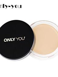 1 Concealer/Contour Nass Cream Lang anhaltend / Concealer / Natürlich Gesicht Natural / Elfenbein china Only you