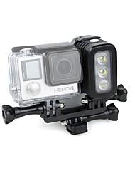 Accessoires pour GoPro,Spot LEDPour-Caméra d'action,Gopro Hero 2 Gopro Hero 3 Gopro Hero 3+ Gopro Hero 5 Gopro Hero 4 Plastique Aluminium