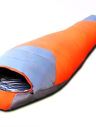 Schlafsack Mumienschlafsack Einzelbett(150 x 200 cm) -15 Enten Qualitätsdaune 220X80