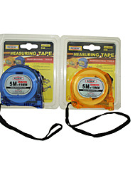 REWIN® TOOL 5M Transparent Double-Sided Steel Measuring Tape With Unbreakable Material 5x19mm