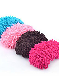 2 Pcs Chenille Shoe Covers Cleaning Slippers Lazy Drag Mop Eco Gift Mother