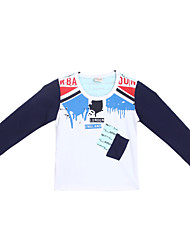 Boy's Cotton Tee,Spring Long Sleeve