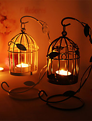 European Charactizing A Single Candle Creative Round Hob Candle Holders The Wedding Gift