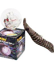 elétrica transparente bola castores de flash
