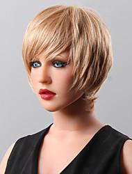 peluca de pelo peluca de cabello humano superior de la venta corta de 16 colores a elegir