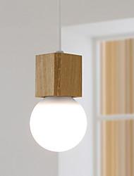 Max 60W Plafond Lichten & hangers ,  Hedendaags Anderen Kenmerk for Ministijl Hout/bamboeWoonkamer / Slaapkamer / Eetkamer / Keuken /