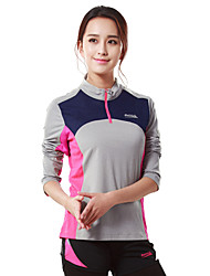 Course / Running Tee-shirt Femme Manches longues RespirableCamping / Randonnée Chasse Pêche Escalade Exercice & Fitness Golf Courses