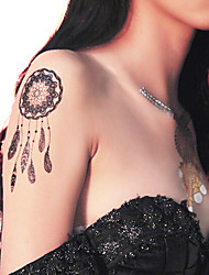 Lace PVC Henna Tattoo Sticker Printing Airbrush Tattoo Stencils