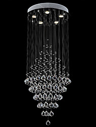 "Crystal Ceiling Chandeliers Pendant Light Hanging Lamps Fixtures with D19.69""  H39.37""CM"