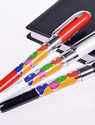 0.7 пластиковые бизнес гелевые ручки (12шт)