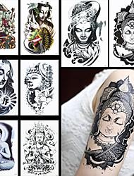Séries de totem Multicolore Papier approvisionnement de tatouage article complet Pochoir Tatouage