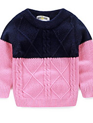Girl's Pink Sweater & Cardigan Cotton Winter