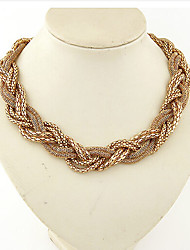 MISSING U Alloy Necklace Choker Necklaces / Chain Necklaces Party / Daily / Casual 1pc