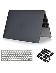 3 in 1 Crystal Clear Soft-Touch  Case with Keyboard Cover and Dust plug  for  MacBook Air 13""