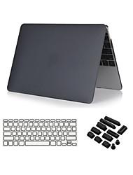"""clair 3 en 1 cristal cas soft-touch avec couvercle du clavier et la prise de poussière pour macbook air 13 """""""