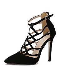 Women's Shoes Leatherette Stiletto Heel Heels / Fashion Boots /Shoes & Matching Bags / NoveltySandals / Heels